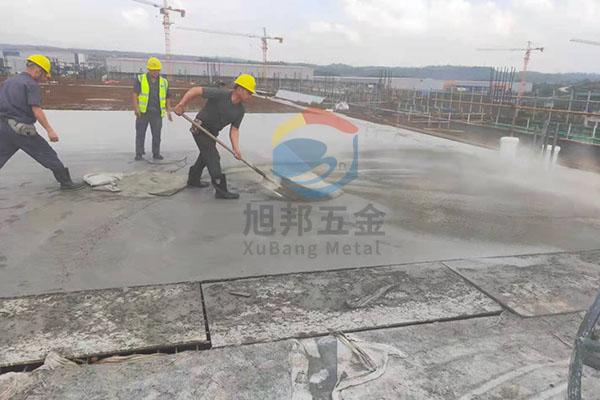 防水层钢筋混凝土钢筋网片